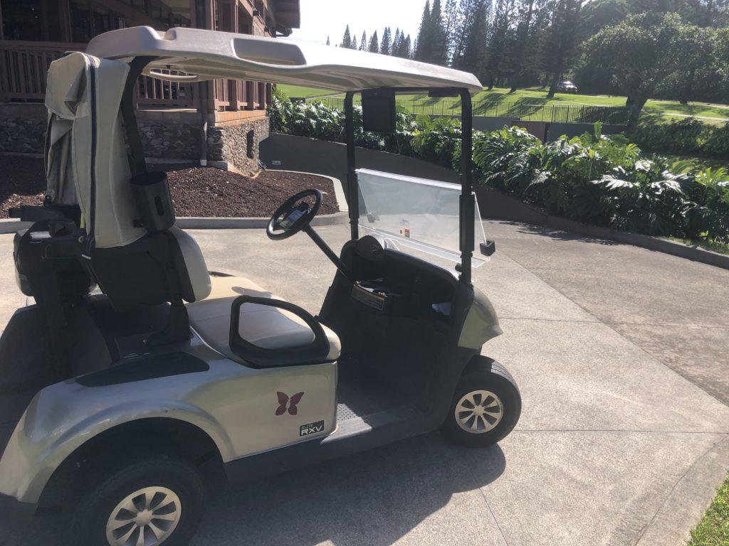 Golf Cart Kapalua