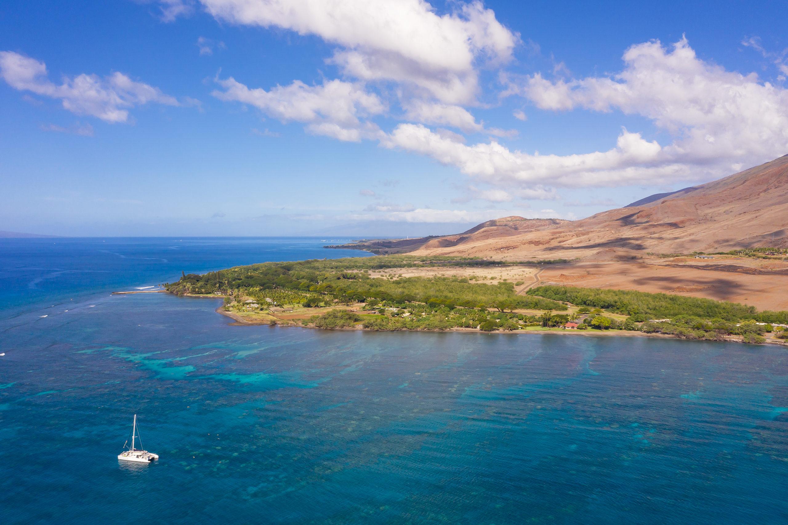 Olowalu West Maui Aerial Views