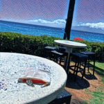 Royal Lahaina Beach Bar Seating
