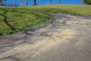 Loose Sand on Kapalua Village Trails