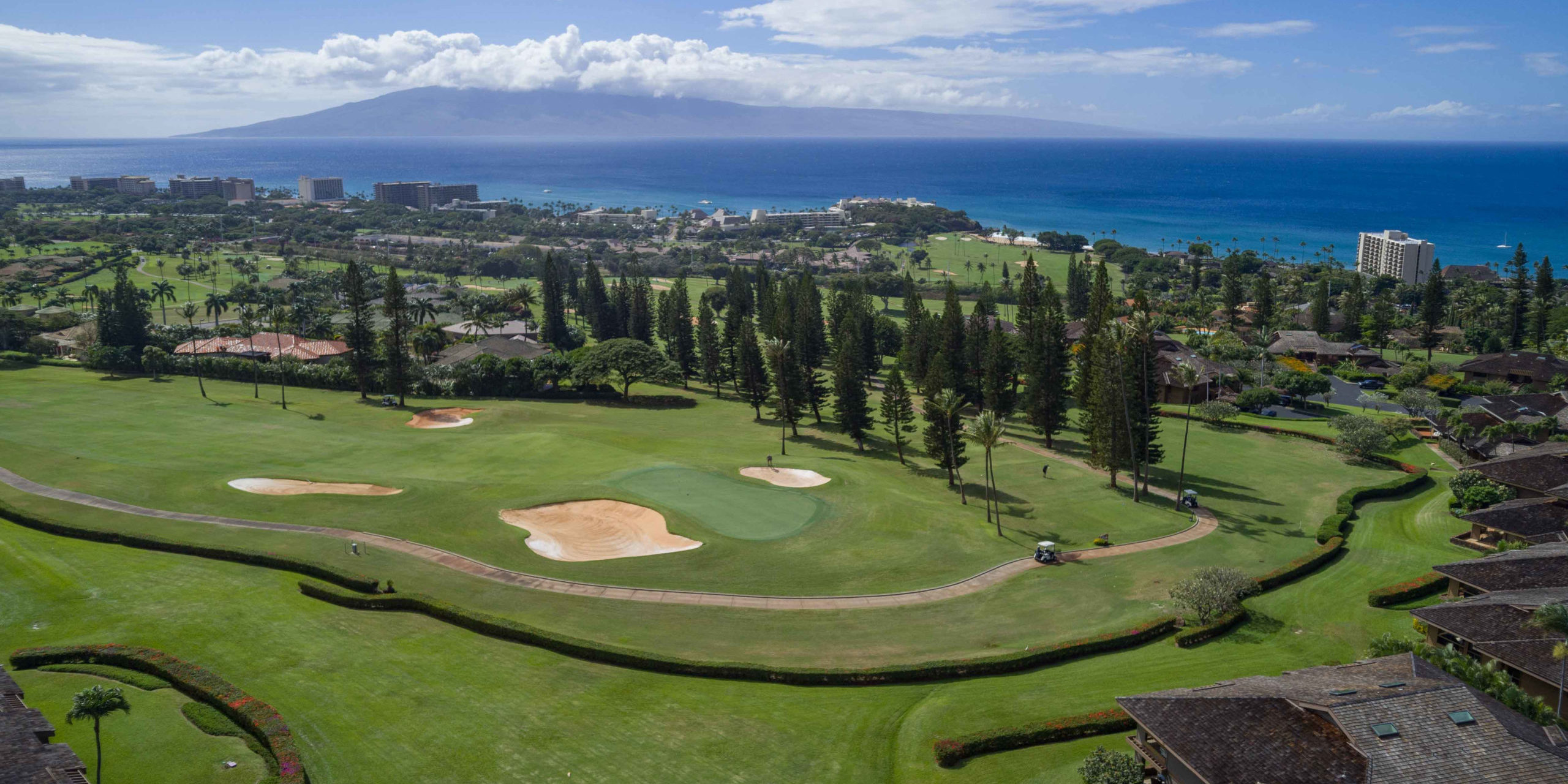 Kaanapali West Maui Aerial Views